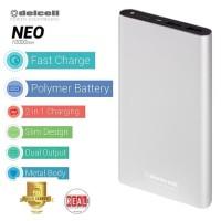 Delcell NEO powerbank 10000mah Real Capacity Polymer Battre