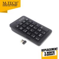 M-Tech Original Keyboard keypad Angka Numerik Kasir Wireless
