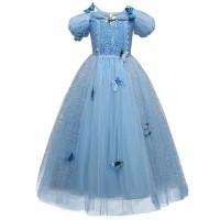 baju anak perempuan/baju pesta Cinderella set butterfly - 3-4 tahun