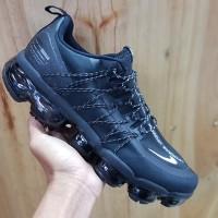 Sepatu Nike Air Vapormax Run Utility Black Reflective Silver Premium