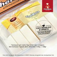 Chef Mate - WHITE Chocolate Compound 166gr Coklat Putih Cokelat Baking