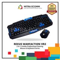 Keyboard & Mouse Gaming wireless Rexus Warfaction VR2