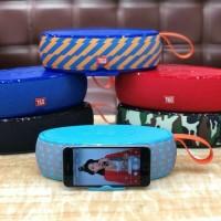 Portable Speaker Bluetooth Wireless Steaming High Power JBL TG105 - Biru