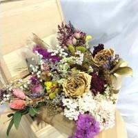 Dried Flower Bahan Craft/ Bunga kering untuk scrapbook / resin