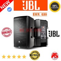 Speaker Aktif JBL EON 610 powered 10 INCH 2way loudspeaker each