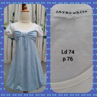 kl.26 blouse striped jayro white