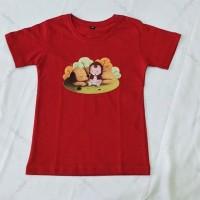 Kaos T-shirt print custom