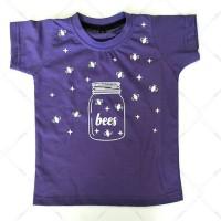 Kaos T-Shirt print Glow In The Dark