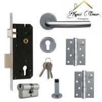 Paket combo hemat 5 in 1 gagang pintu/handle pintu/hendel pintu murah