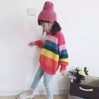 Sweater rajut anak RAINBOW SECKER