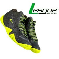 Levitate Gren Sepatu Grey - Basket League Original