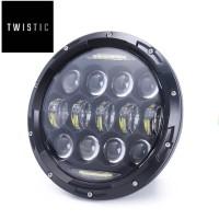 Daymaker Spider Eye 7 inchi Lampu LED 75w Import New Model 2019
