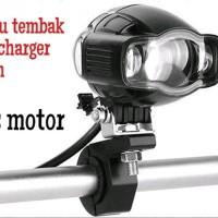LAMPU LED TEMBAK SOROT PLUS CASAN-CHARGER HP USB MODEL RTD super