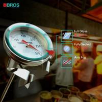 Thermometer minyak Goreng - Termometer Deep fry ayam - 16cm Cafe Bros