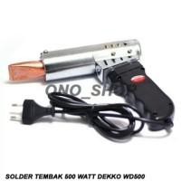 Solder Tembak 500 Watt Dekko WD-500
