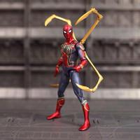 Iron Spiderman Avengers Infinity War Action Figure / Mainan