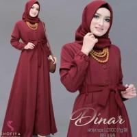 Baju Wanita Gamis Syari Dinar Maxi Dress Muslim