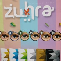 softlens zuhra by exoticon - Blue