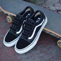 Vans Old Skool Velcro Pro Black White (Ultracush)