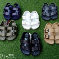 Sandal Sepatu Anak Red apple Double Backstrap BG 2569