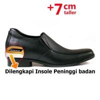 Keeve Sepatu Peninggi Badan Pria KBP-022 - Hitam, 42