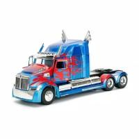 Miniatur Diecast Mobil Transformers JADA 1:24 Transformers 5 OPTIMUS P