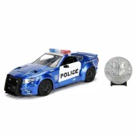 Miniatur Diecast Mobil Balap JADA 1:24 Transformers 5 Barricade GT350R
