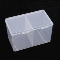 kotak tempat kapas sekat / cotton storage box BEST SELLER