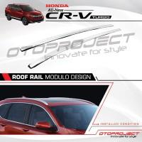 Paket Roof Rail + Cross Bar Tipe Premium Otoproject All New Crv Turbo
