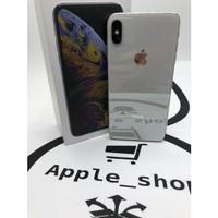 iPhone xs max 256gb Silver Dual Sim Single on No Minus