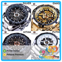 WINNER WRG8042 Skeleton Automatic Mechanical Watch Jam Tangan Mekanik