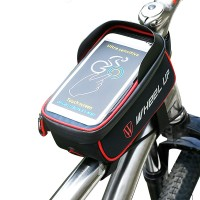 WHEEL UP Bicycle Touchscreen Front Frame Tube Cell Phone
