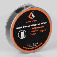 Kawat Geek Vape N80 Fused Clapton Wire NiCrome 30ga 3 38ga ORIGINAL