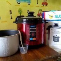 pilihan murah suggo rice cooker & pressure cooker / presto listrik