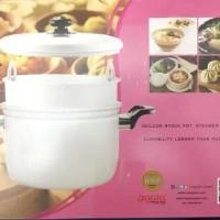 PILIHAN MURAH PANCI KUKUS / STEAMER RICE COOKER MASPION 33CM (PANCA