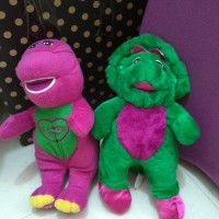 20cm Boneka Barney & Betty Bob