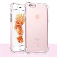 ANTI Crack Clear Soft Case Apple iPhone 6 Plus / 6s Plus Casing Bening