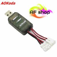 Aokoda cx405 4CH Micro USB Charger Baterai untuk 1S Lipo lite battery