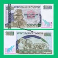 UANG ZIMBABWE 1000 DOLLARS 2003 UNC KOLEKSI