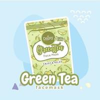 MASKER MUKA GREEN TEA FACE MASK BY DAISY ORGANIC- TRAVEL SIZE 20 GR