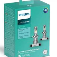 Lampu Bohlam Mobil LED Putih H4 Philips