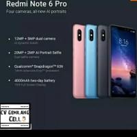 Xiaomi Redmi Note 6 Pro Ram 4/64GB
