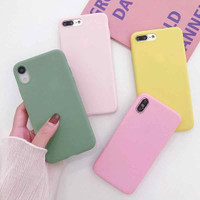MACAROON SOFT CASE FOR SAMSUNG M20, S9 PLUS, NOTE 9, S10 PLUS