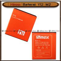 Baterai Himax Y12 M2 Double Power Batre Batrai HP