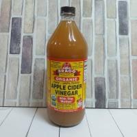 Cuka Apel Organik/Organic Apple Cider Vinegar Bragg 946ml