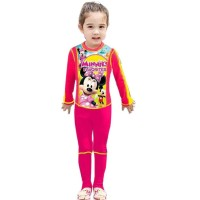 Baju Renang Anak Cewek Perempuan Minnie Mouse Pink