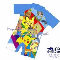 3-4 tahun Baju Renang Anak Laki-laki Pokemon