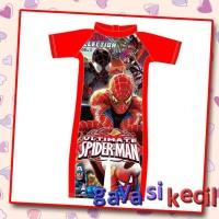Baju Renang Anak Cowok Laki Spiderman Swimwear Import