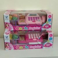 Mainan Anak Perempuan Cash Register + sayuran