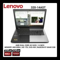 Lenovo ip320 Amd A9-9420 4GB 1TB Vga R5 M430 2GB New
